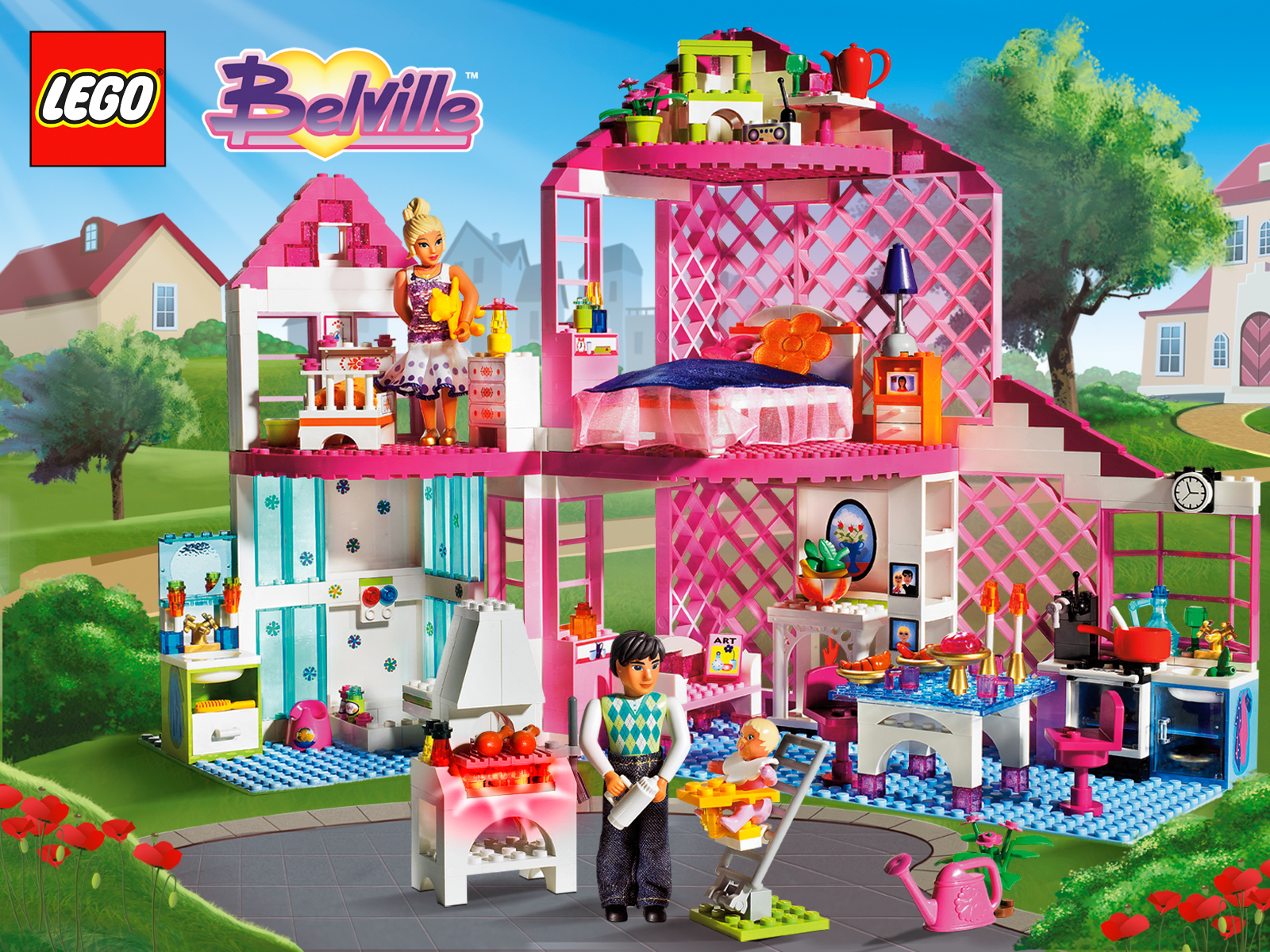 lego friends sebolas. Black Bedroom Furniture Sets. Home Design Ideas