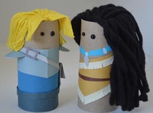 John Smith & Pocahontas